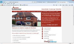 Crowborough builders, Adams Longhurst are now on Checkatrade.